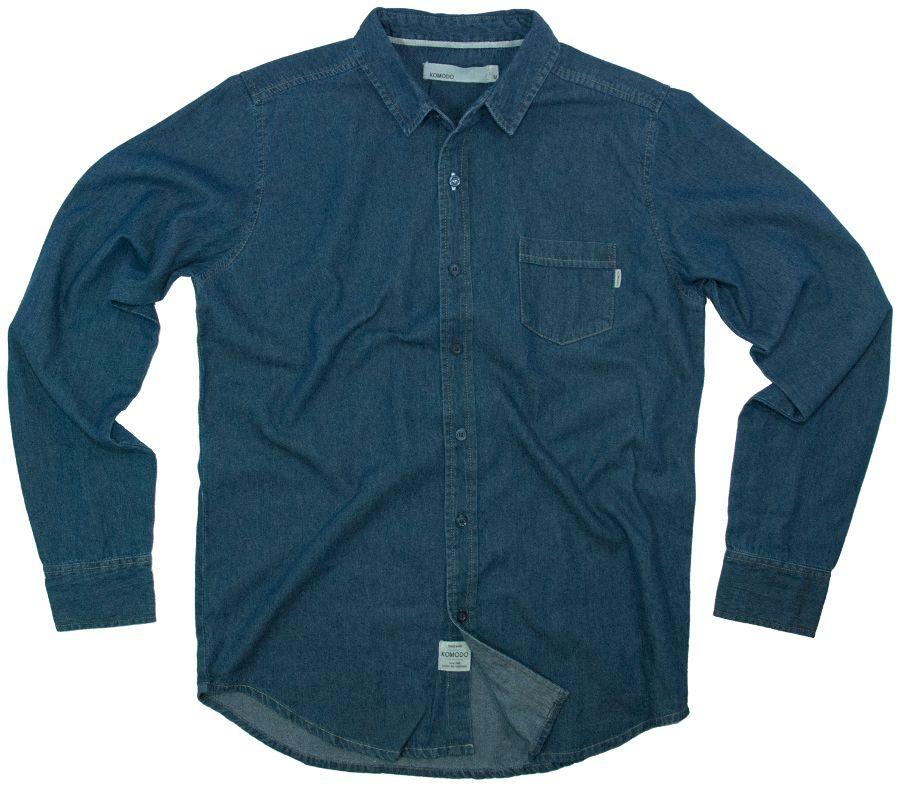 Komodo - Komodo Dark Denim Rancher Shirt - Eco £59.96