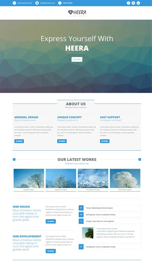 30 Bootstrap Website Templates Free Download Free Website Templates Templates Free Download Website Template