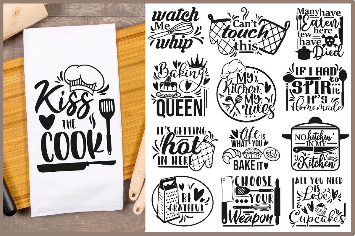 Download Kitchen SVG Bundle, svg desings, svg in 2020 | Svg quotes ...