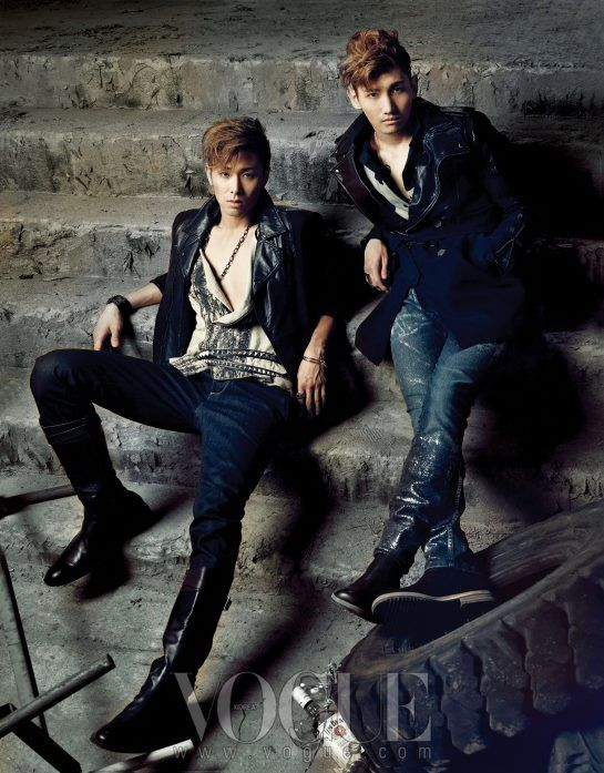 TVXQ- gods of the East! Love them :) my bias group~ especially love Yunho!