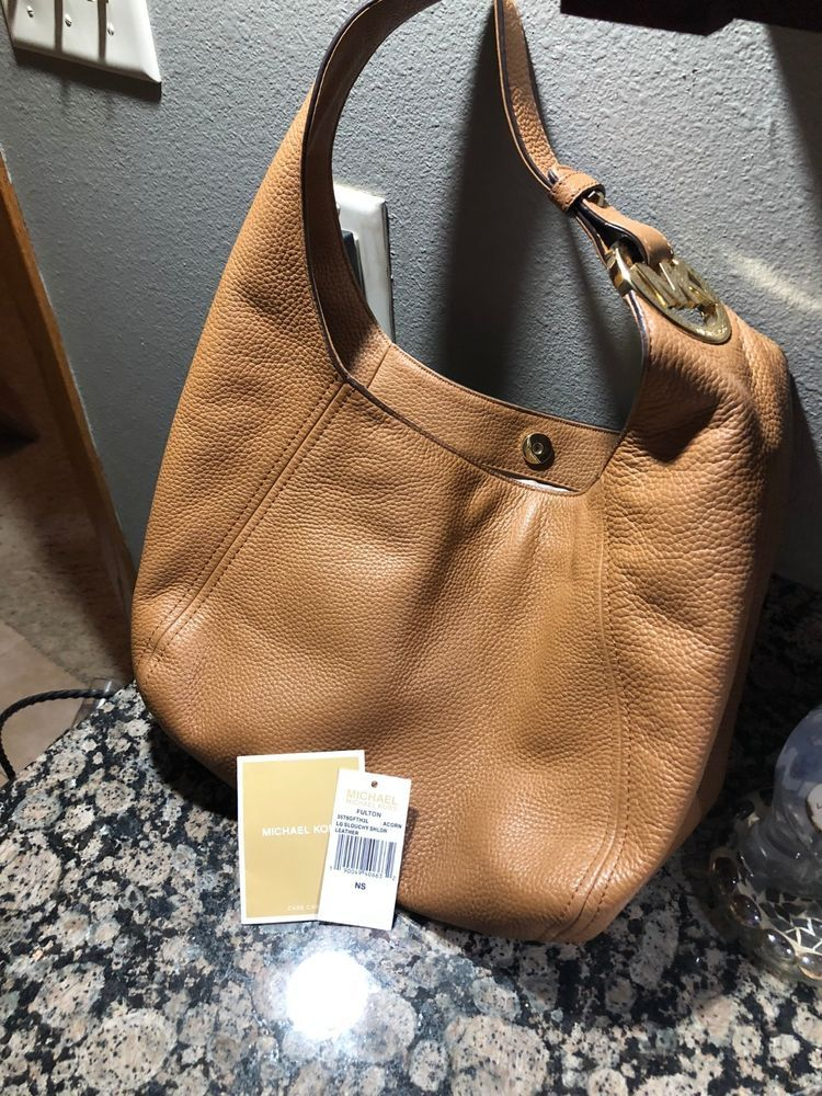 e506aa2057b4 MICHAELL Michael Kors Women's Fulton Large Slouchy Shoulder Bag #fashion  #clothing #shoes #accessories #womensbagshandbags (ebay link)
