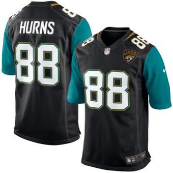 5ceb78b404 Nike Jaguars  88 Allen Hurns Black Team Color Men s Stitched NFL Elite  Jersey. Jacksonville JaguarsCamisas De FutebolCalçõesHomens ...