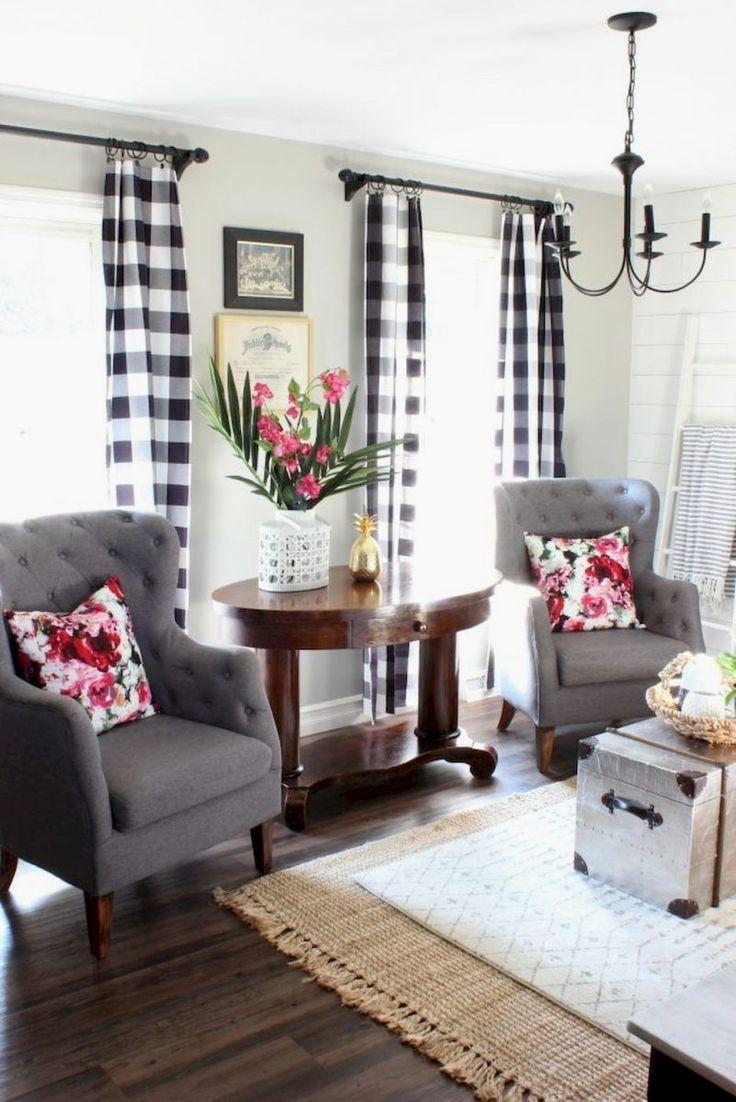 Insane modern farmhouse living room design ideas (24