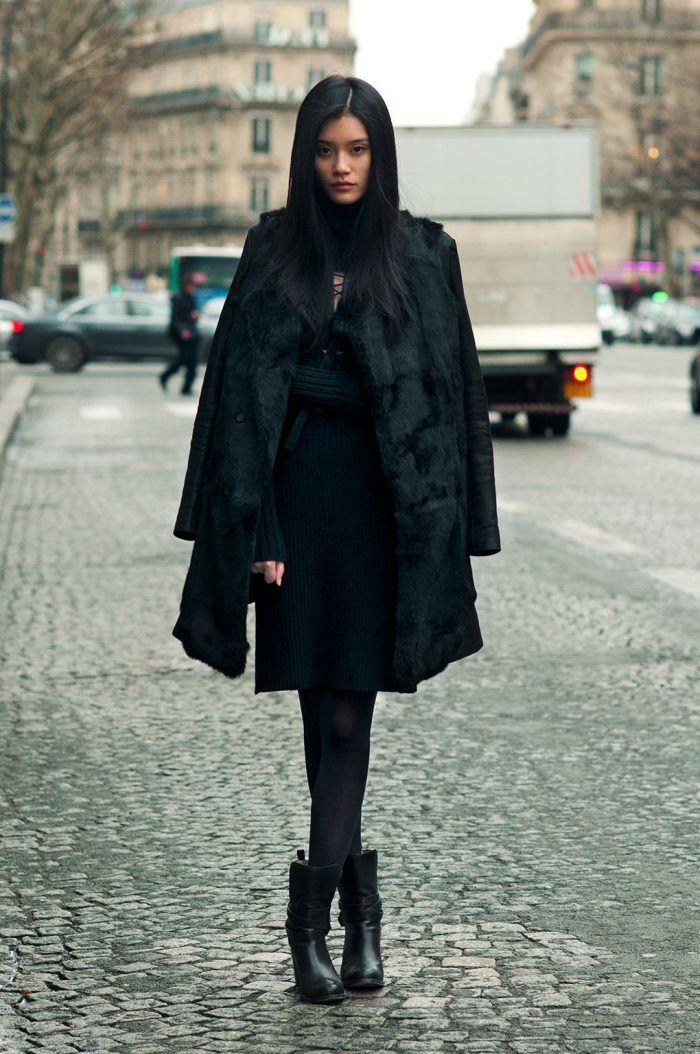 Alle schwarzen Outfits für Frauen | Frauen outfits, Mode