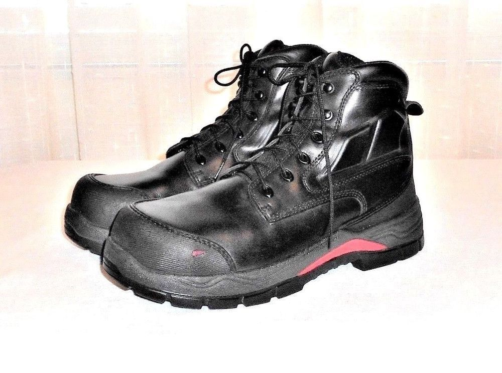 Red wing 2407 king toe adc lace up safety work boot mens