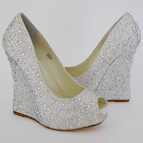 wedding wedges for bride | ... Manor Bride » Blog Archive » New ...