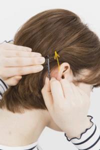 使うのはピンだけ 耳かけショートヘアのセット アレンジまとめ