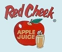 Red Cheek apple juice BABY BOOMER. FOOD, CANDY, DRINKS