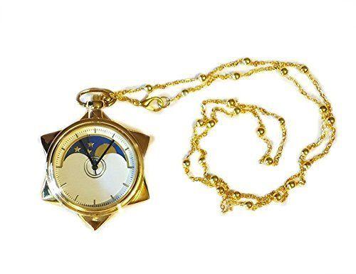 Sailor Moon Crystal Star Locket Pocket Watch Sweater Chai