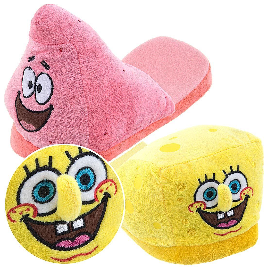 Spongebob And Patrick Slippers For Men Men S Cartoon