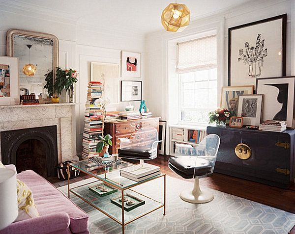 Interior Design For Small Living Room Delectable How To Decorate A Small Living Room  Eclectic Style Small Living Design Ideas