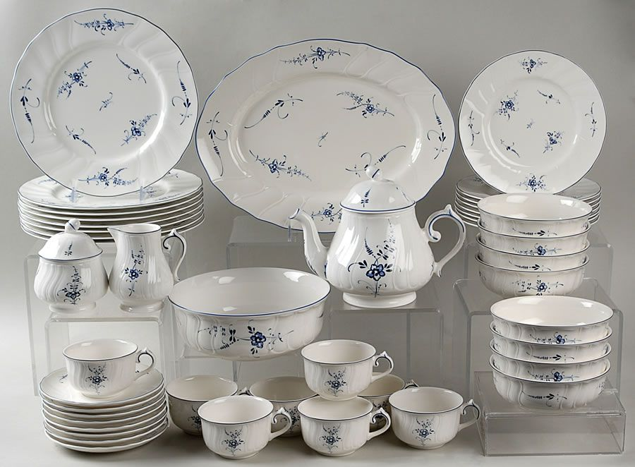 My first set villeroy boch vieux luxembourg vajillas pinterest vaisselle porcelaine - Vaisselle villeroy et boch ...