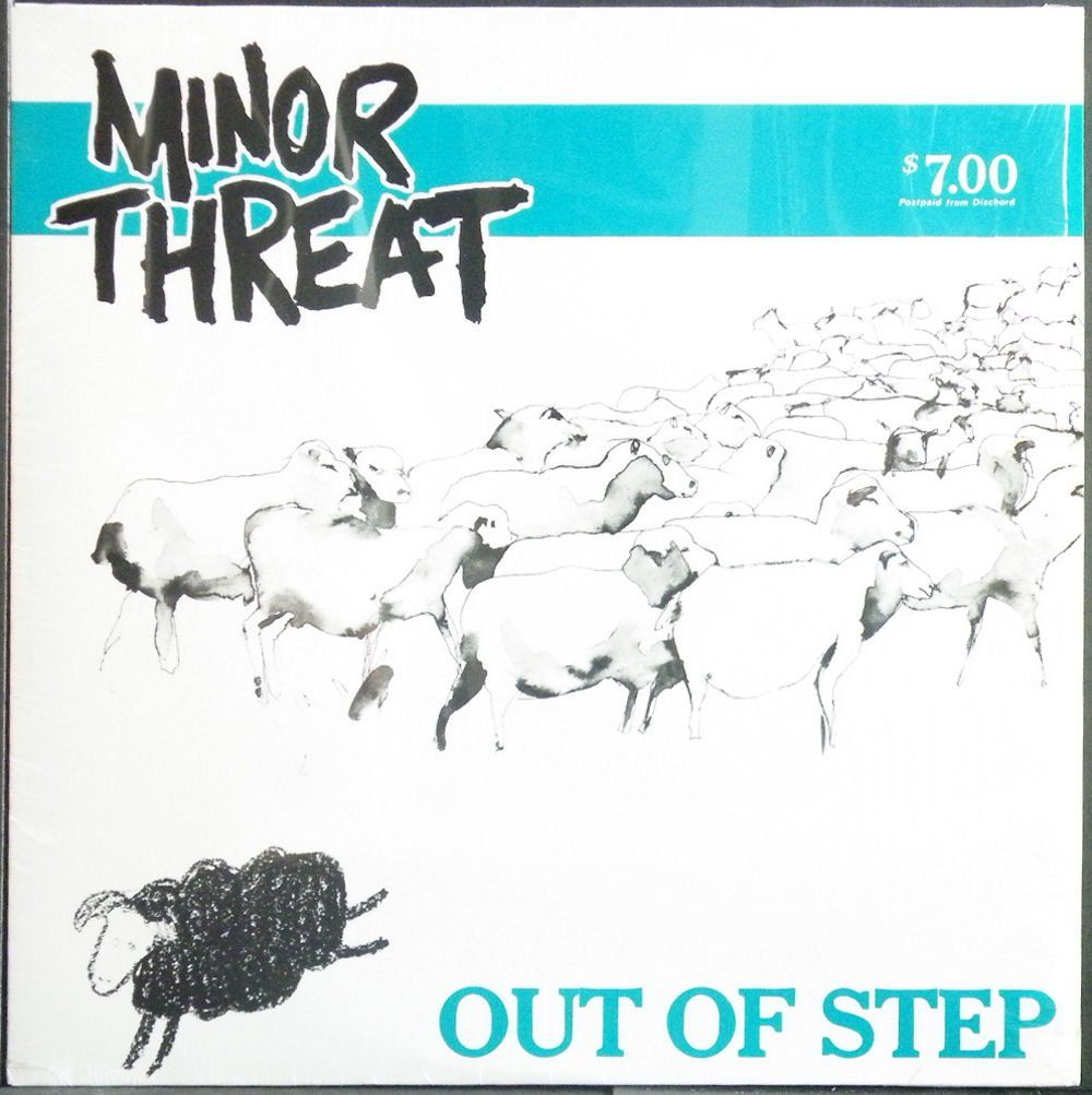 just one more, Minor Threat's Out Of Step, killer album  #punklondon  via @Jake_Szabo