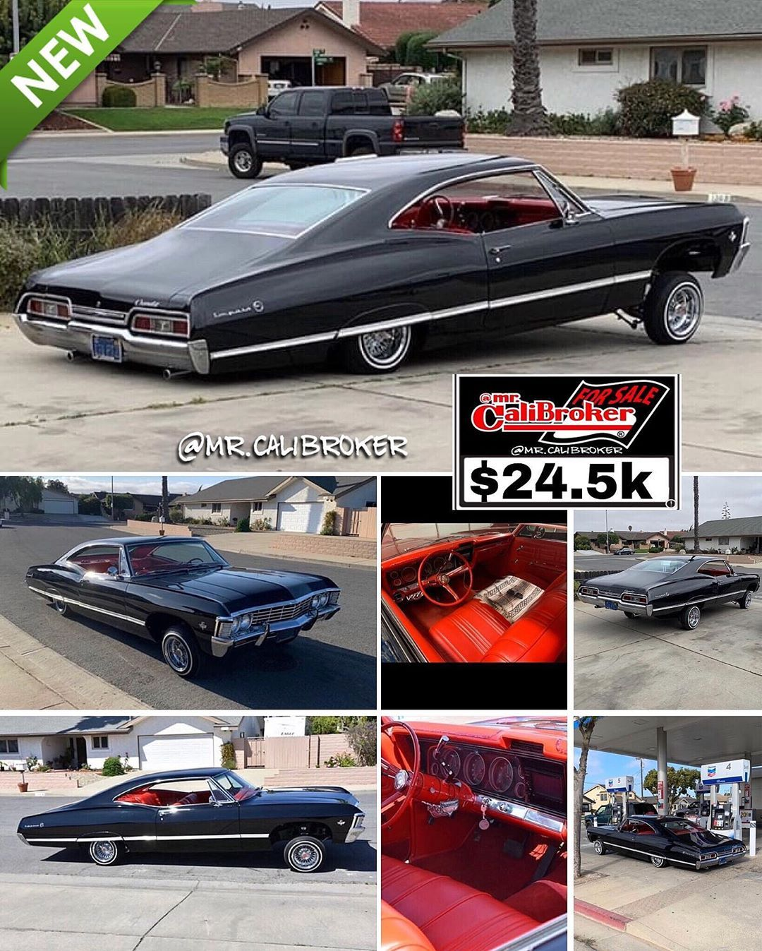 Mr Calibroker 4sale Forsale 1967 Chevy Impala Dressed