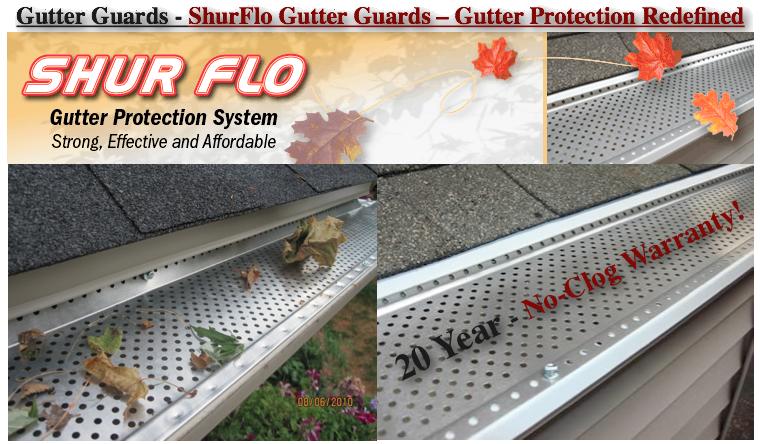 Gutter Guards Shur Flo Gutter Guard Gutter Protection