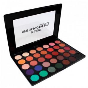Paleta de Sombras Best 35 Cores Pro V2 - SP Colors