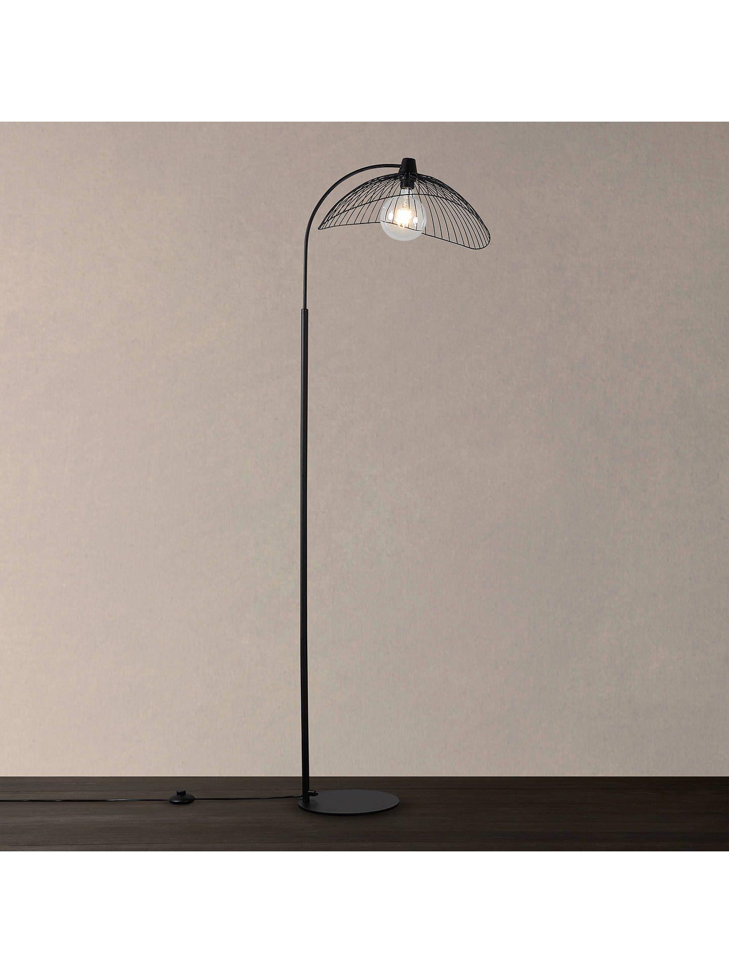 da0da17e257a BuyJohn Lewis & Partners Hiko Floor Lamp, Black Online at johnlewis.com