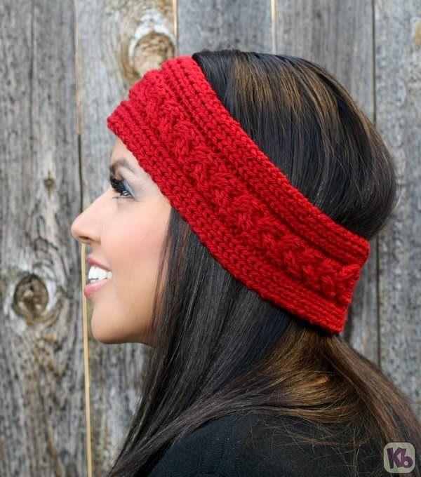 Loom Knit Ear Warmer Headband Pattern Pictures Craft Ideas Yarn