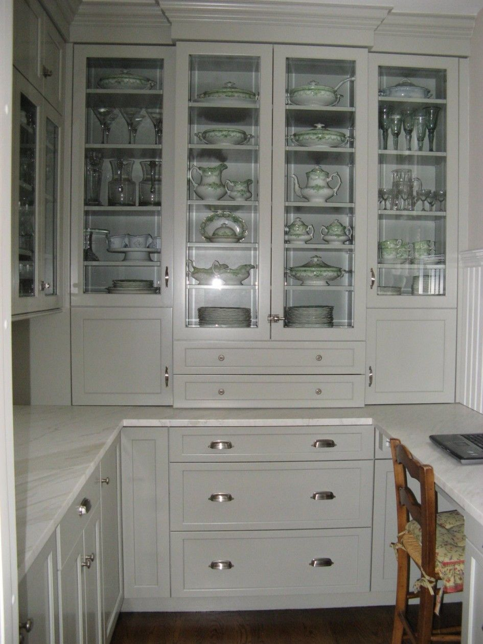 Kitchen Wooden High Gloss Pantry Cabinet White Drawers Ceramic Pottery Clear Gl Goblet Oak Laminate Countertops
