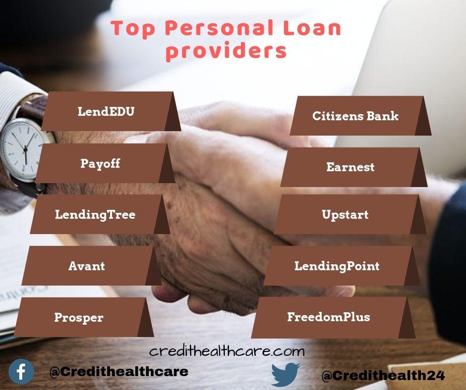 Top Personal Loan Providers In 2018 Personal Loans Loan Loan