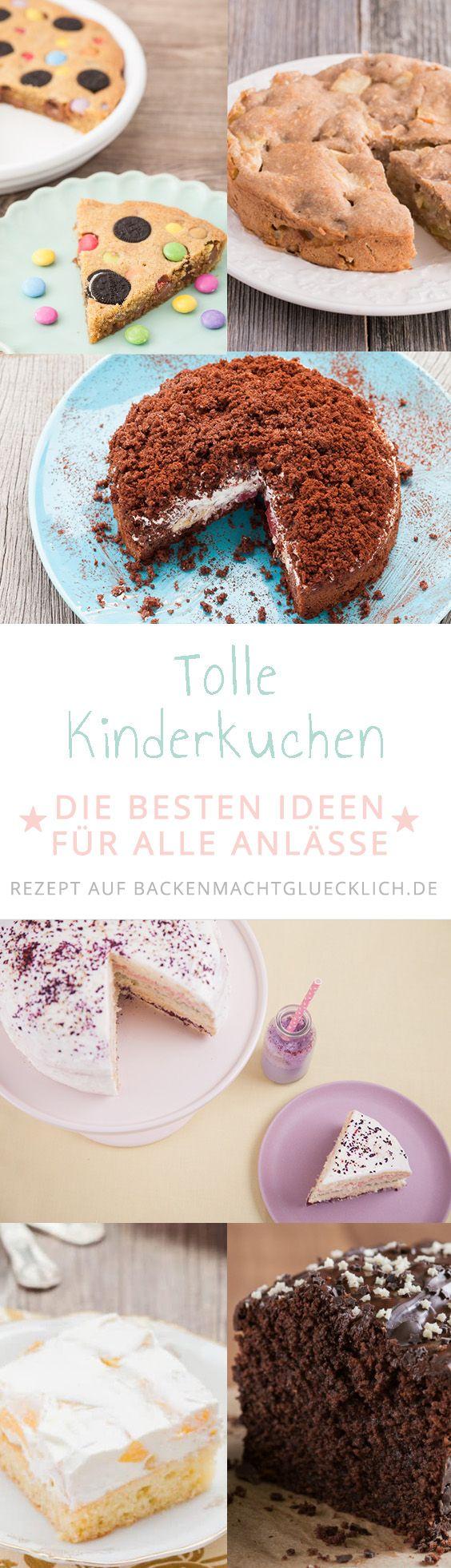 Die besten Kindergeburtstags Kuchen   Backen macht glücklich ...