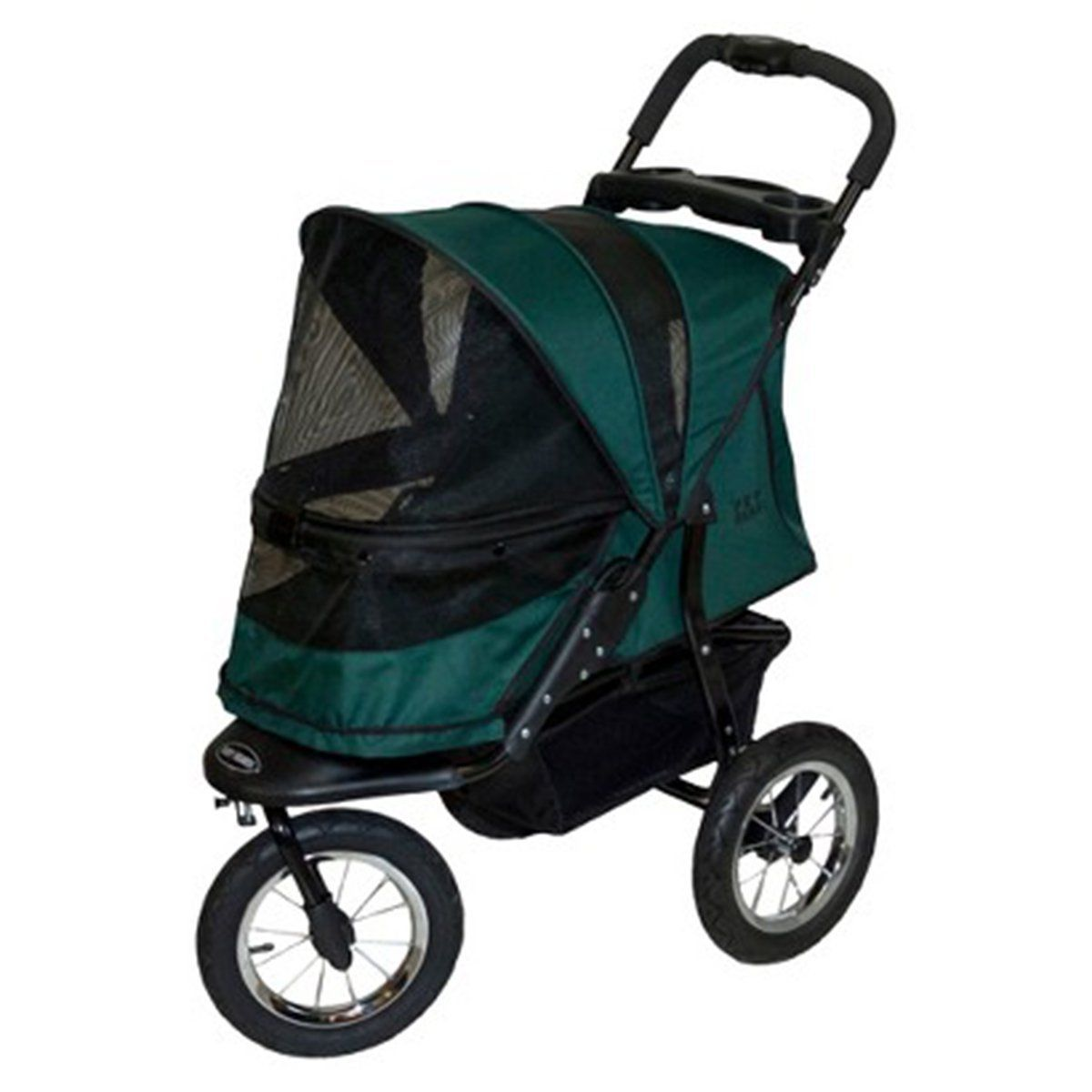 The green Pet Gear Jogger NoZip Pet Stroller >>> Amazing
