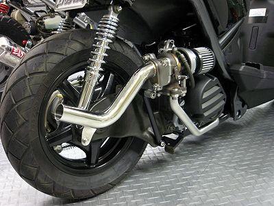 Turbo Scotter | Zuma 125 | Turbocharged scooter | Motorcycle