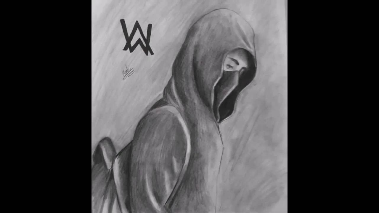 Image Result For Alan Walker Easy Sketches To Draw With Pencil