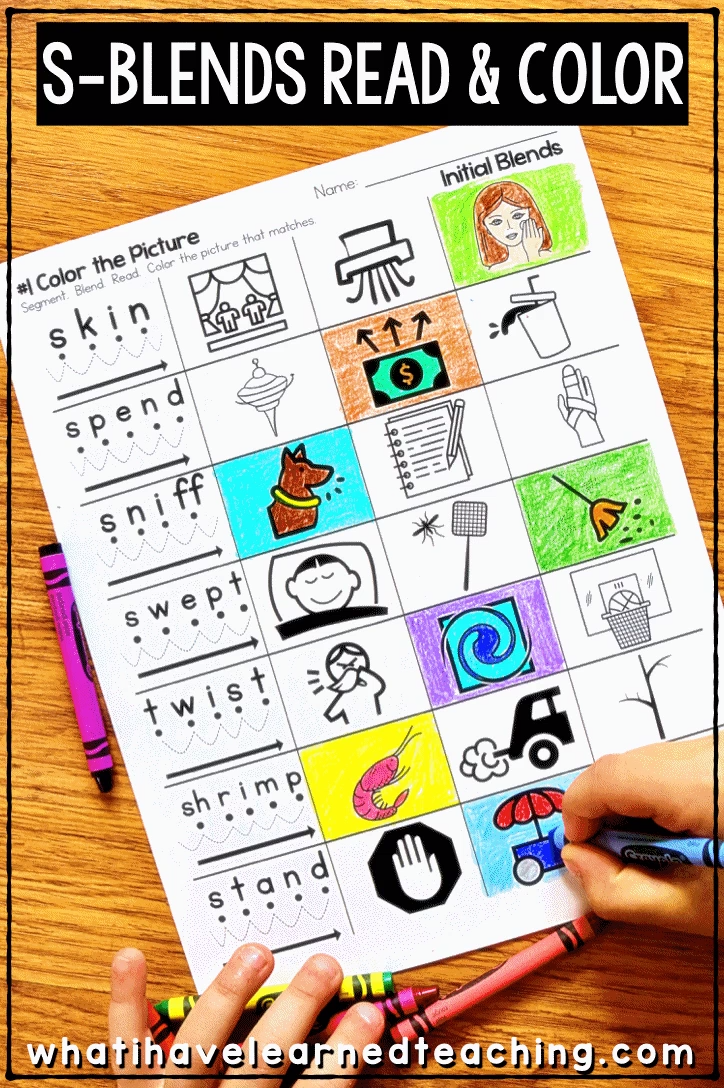 Phonics Worksheets For Initial And Final Blends Video Video Phonics Worksheets Blends Worksheets Phonics Blends [ 1088 x 724 Pixel ]