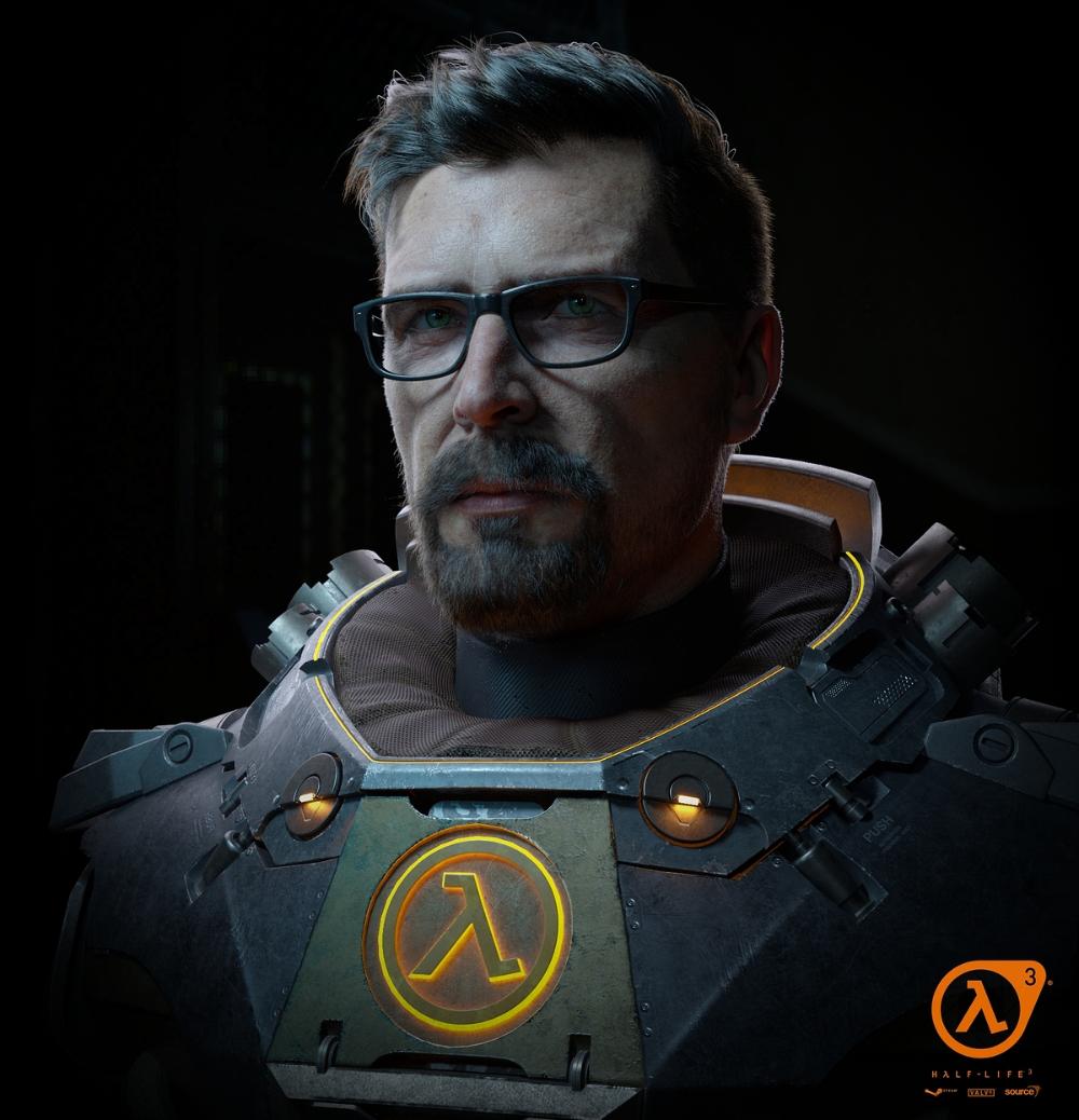 Gordan Freeman Zbrushcentral Gordon Freeman Half Life Science Fiction Art Retro