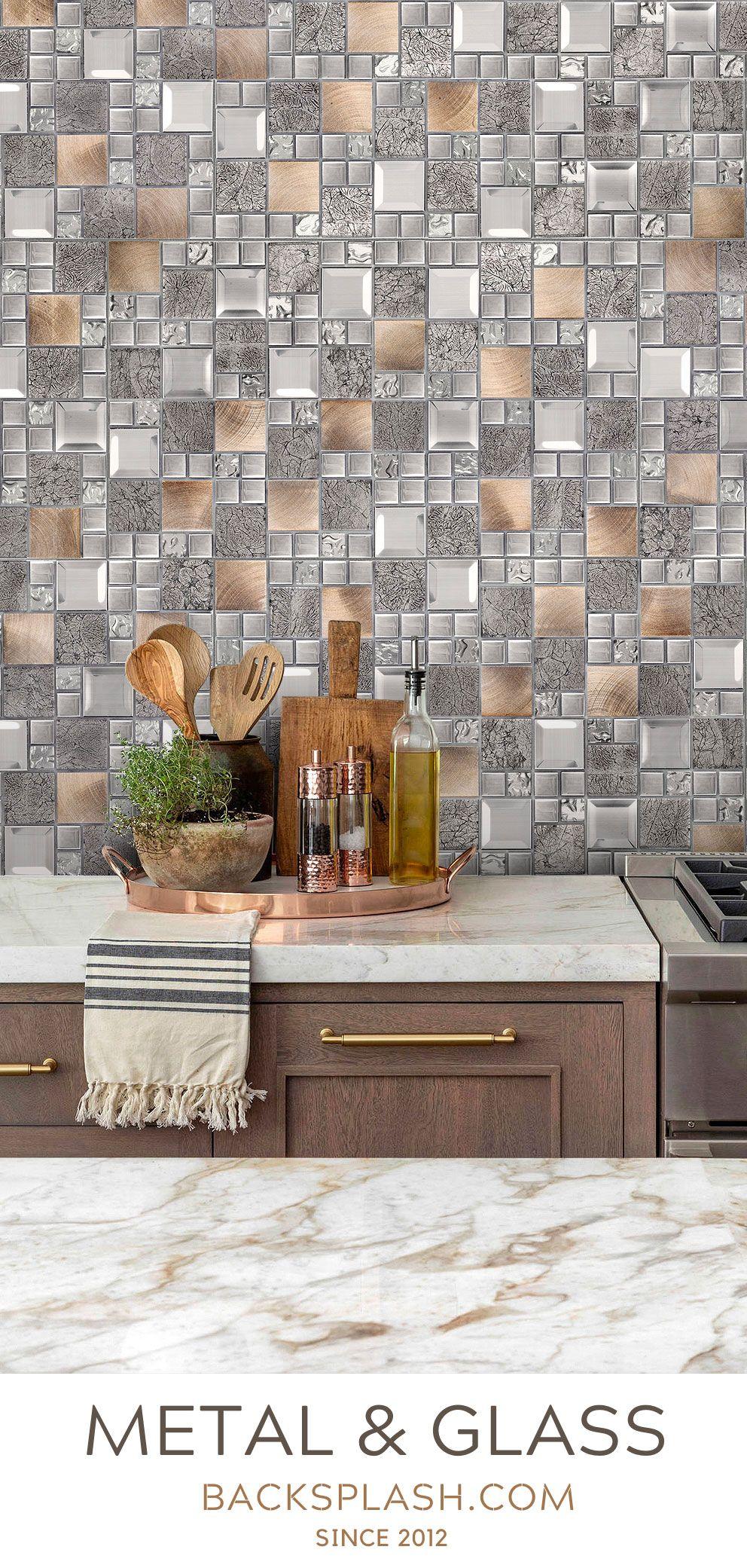 22 brown kitchen backsplash tiles ideas