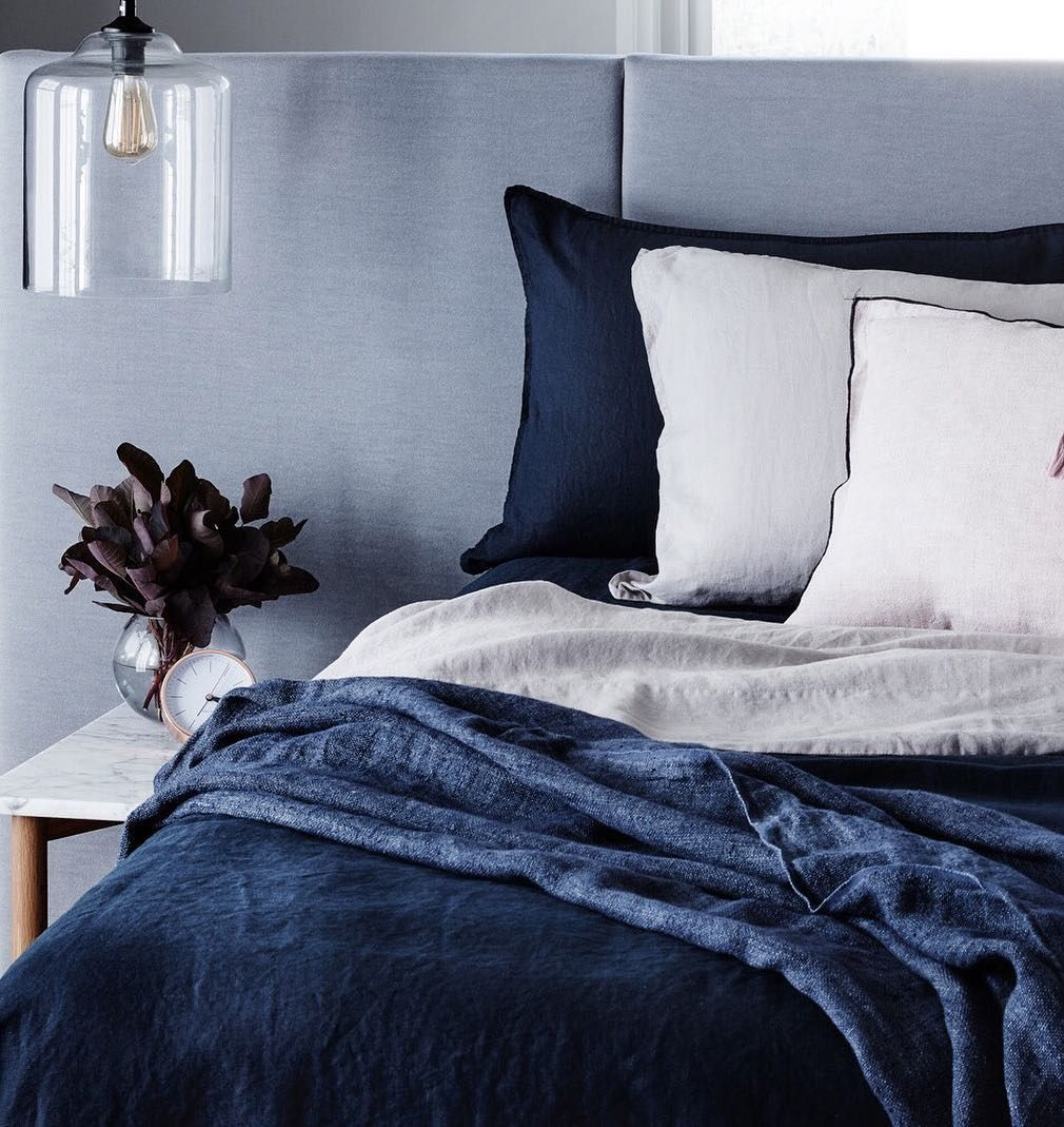 A Closer Look At Our New Mondo Navy Bed Linen. This Went Down A Treat The  Other Day! We Canu0027t Wait To Release It To You All Very Soon!