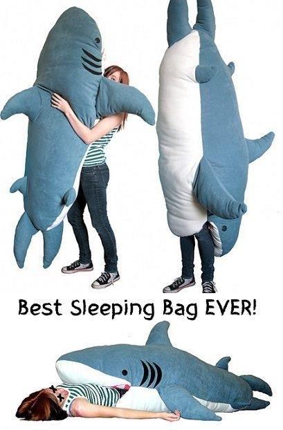 Shark Sleeping Bag .
