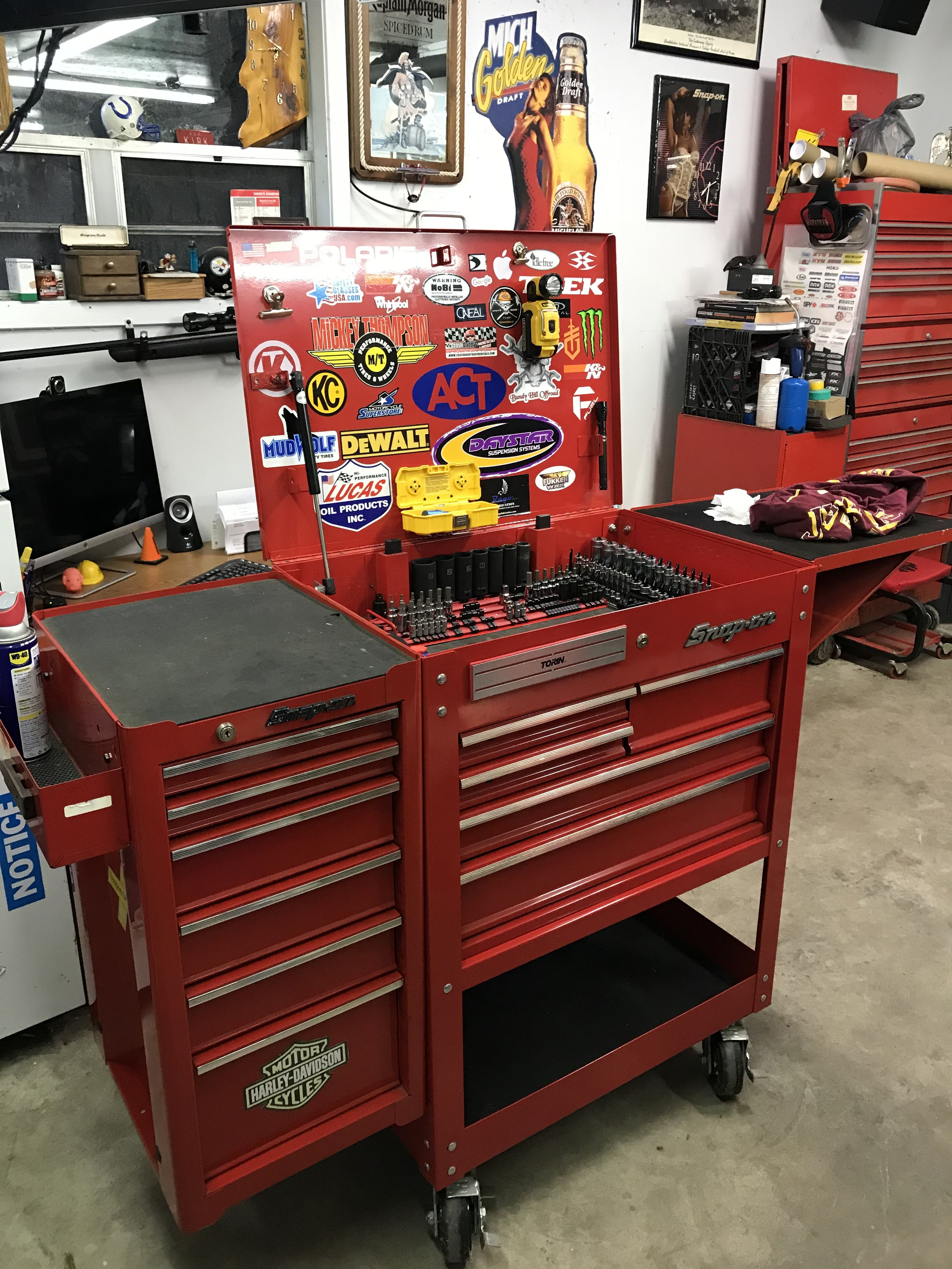 Harbor Freight Tool Cart Modified Harbor Freight Tools Tool Cart Mechanics Tool Cart