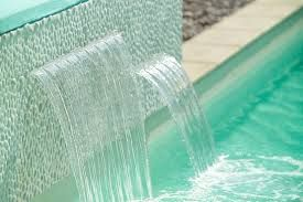 Resultado de imagen para swimming pools with waterfall designs