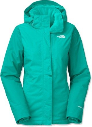 North Face Women s Inlux Insulated Jacket in Kokomo Green 88e30eefd