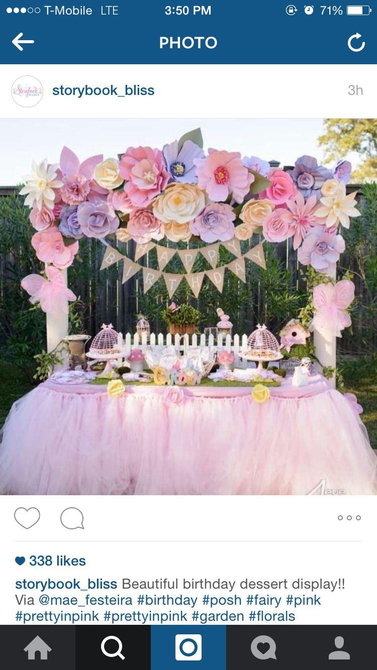 Flower theme  Candy  Pinterest  Flower Birthdays and Babies