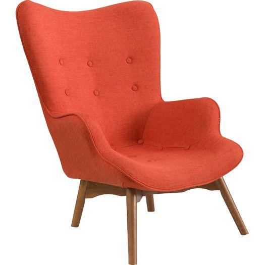 Langley Street Canyon Vista Mid-Century Accent Chair & Reviews   AllModern