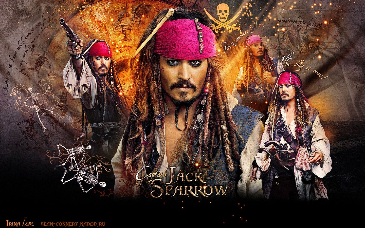 Pirates Of The Caribbean Wallpapers Desktop Wallpaper Free