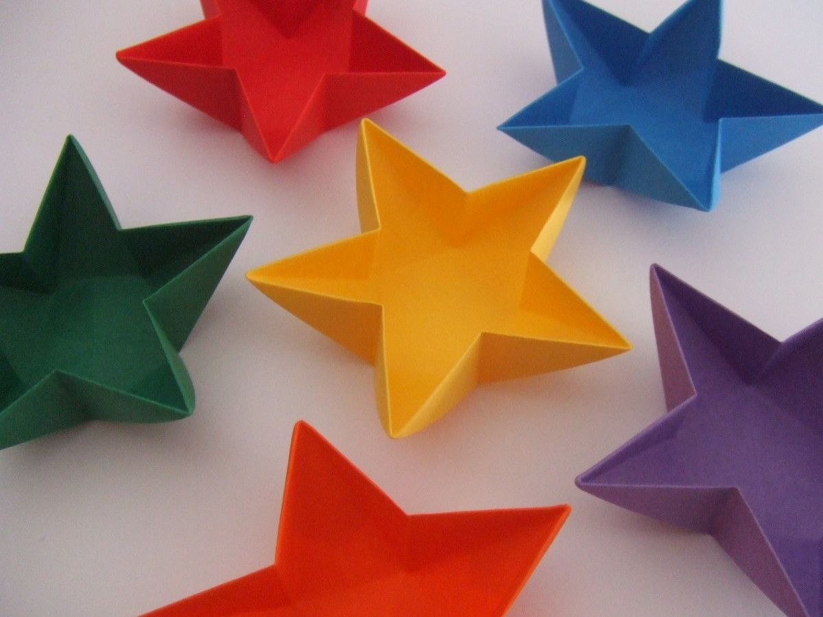 Caixa Estrela Star Box Ateli Do Origami Fold And Fold Again