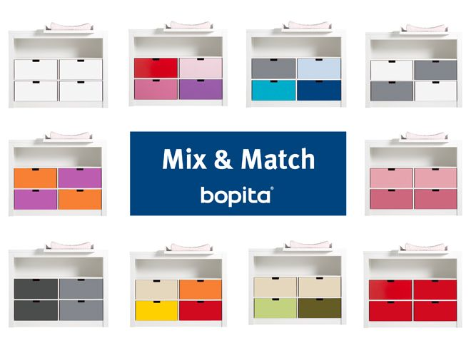 Bopita Kast Mix En Match.Mix Match Van Bopita Een Commode Of Kast Met Diverse