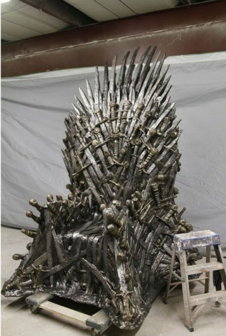 Life Size Replica Game Of Thrones Iron Throne For Sale Trono
