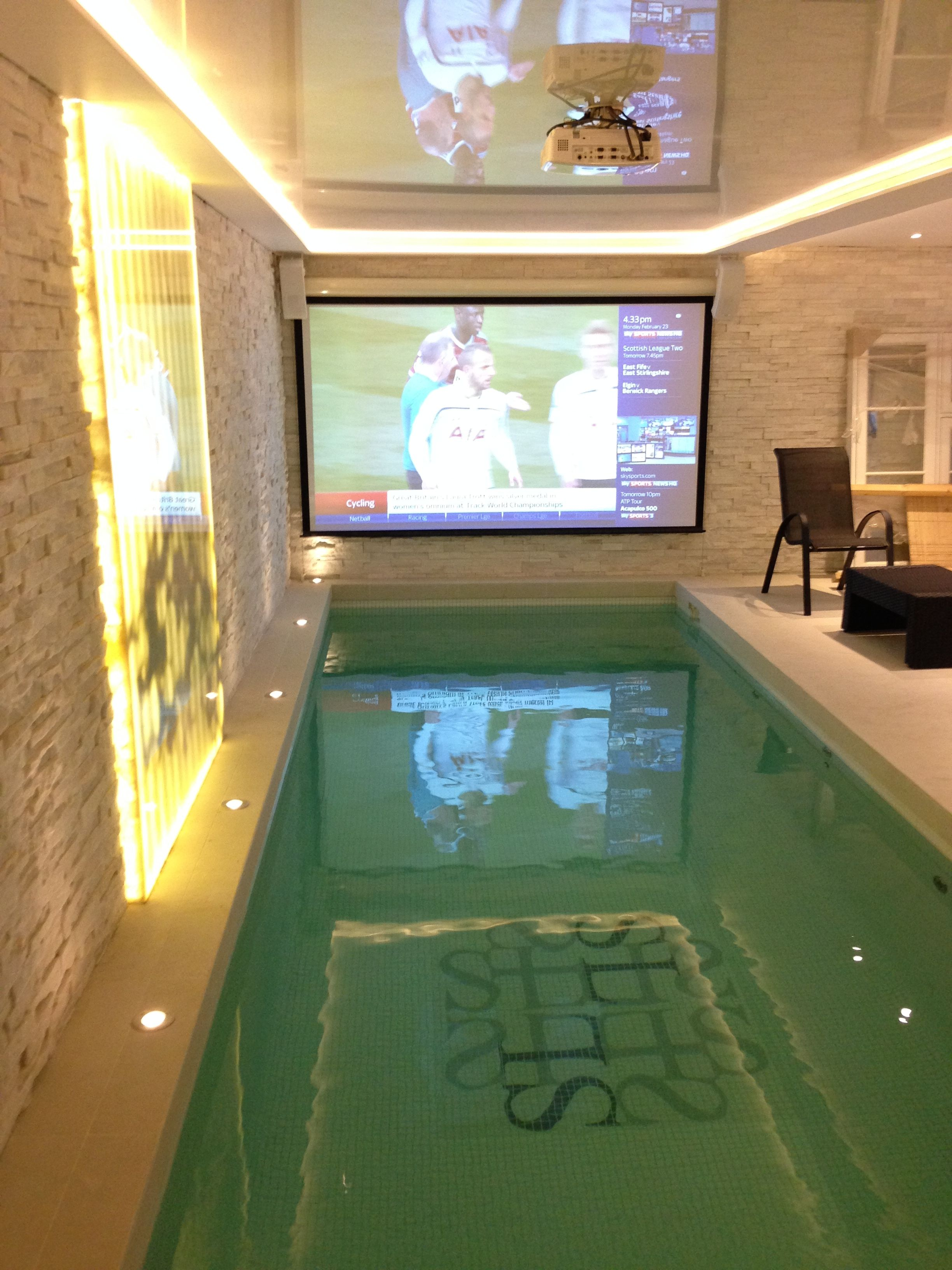 Luxury basement pool in london indoor pools in 2019 - House with swimming pool for sale scotland ...