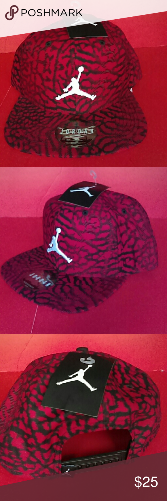 BRAND NEW AIR JORDAN'S HAT 100% AUTHENTIC ADULT UNISEX SNAPBACK REASONABLE  OFFER IS WELCOMED Accessories