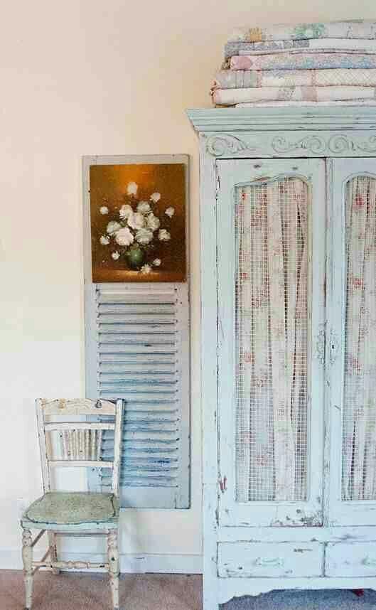 Kommode, Pastell, Wohnen, Deko, Shabby Chic Vintage, Bemalte Möbel,  Selbstgemachte Möbel, Geschirrschränke, Schrankregale