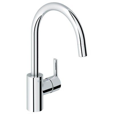 Grohe Feel Starlight One Handle Pull Down Kitchen Faucet With