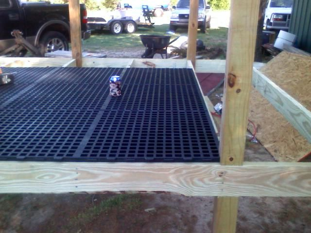 Awesome Above Ground Dog Pen (In Progress) PICS UPDATED   Georgia Outdoor News  Forum The