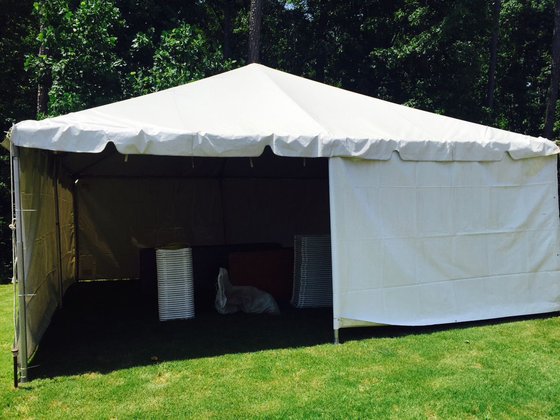 20x20 Tent with Sidewalls & 20x20 Tent with Sidewalls | 20x20 Frame Tents! | Pinterest | Tents