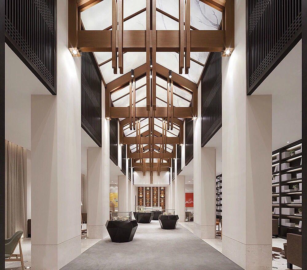 Lobby Interior Design: Pin By Jeremy On Interior(china)