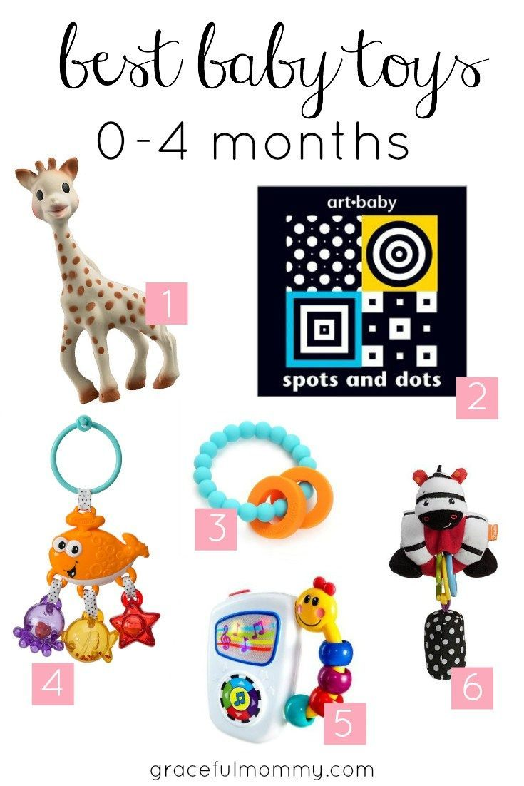 Our Favorite Baby Toys: 0-4 months